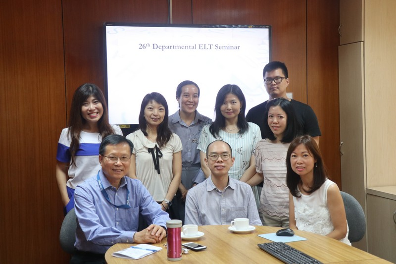 Group photo of teachers of the Department of English